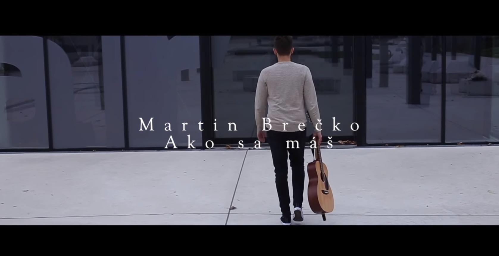 Martin Brečko je nová nádej na našej scéne! (via Rádio Expres)